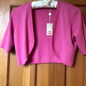 Michael Kors shrug- bolero sweater